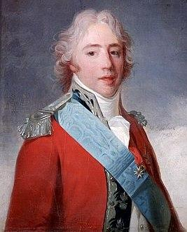 Charles philippe de france ou charles x