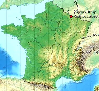 Chauvency saint hubert 55 geo