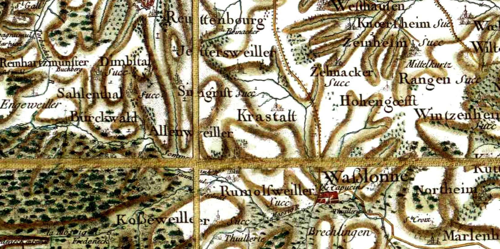 Crastatt 67 cassini