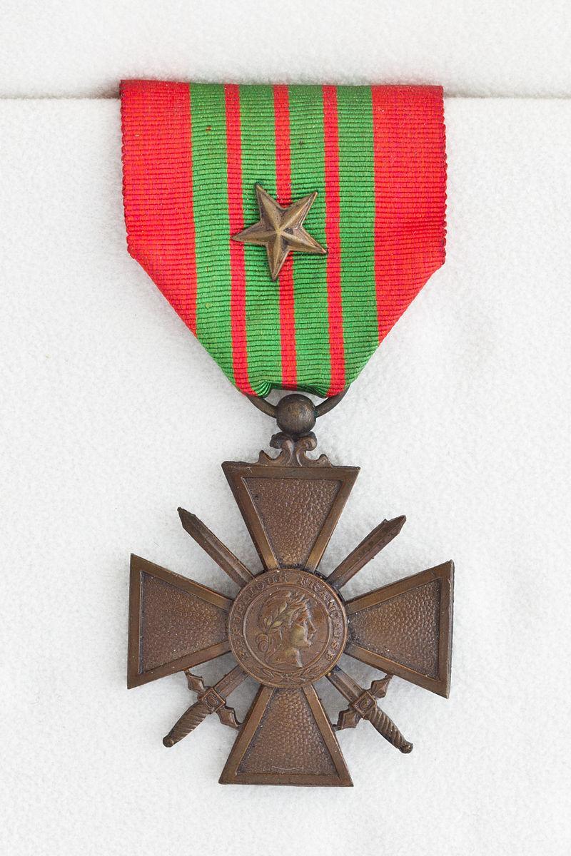 Croix de guerre 1939 1945
