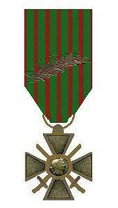 Croix de guerre met palm van milan rastislav stefanik