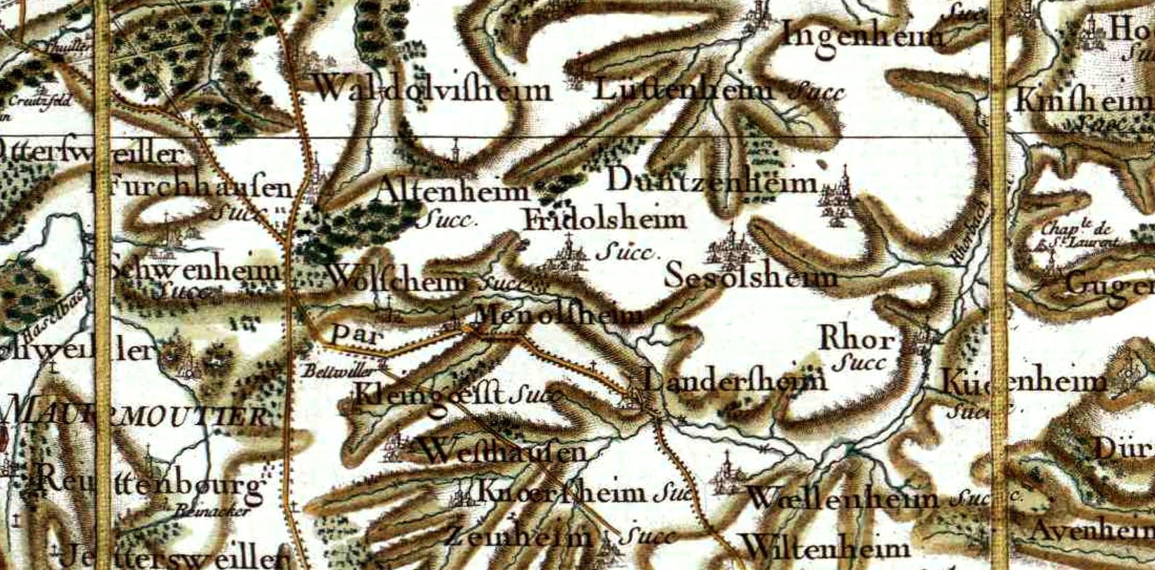 Friedolsheim 67 cassini