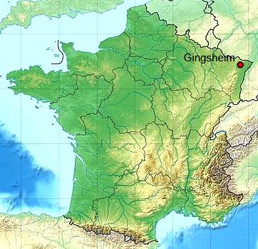 Gingsheim 67 geo
