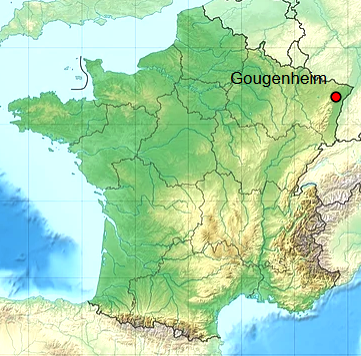 Gougenheim 67 geo