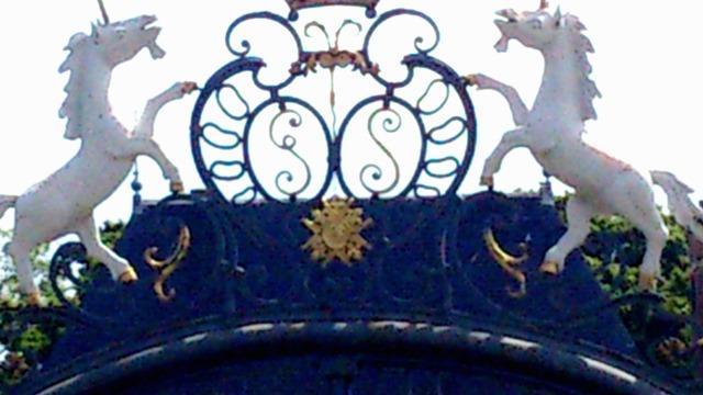 Lavilletertre oise chateau saint cyr grille