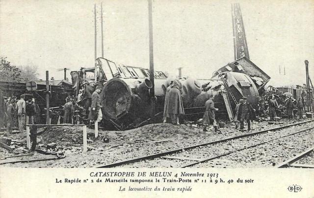 Melun seine et marne la catastrophe de 1913 cpa