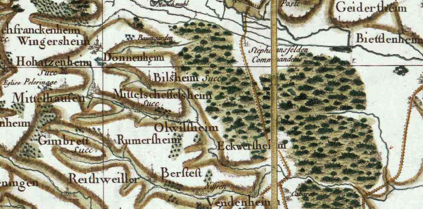Mittelschaeffolsheim 67 cassini