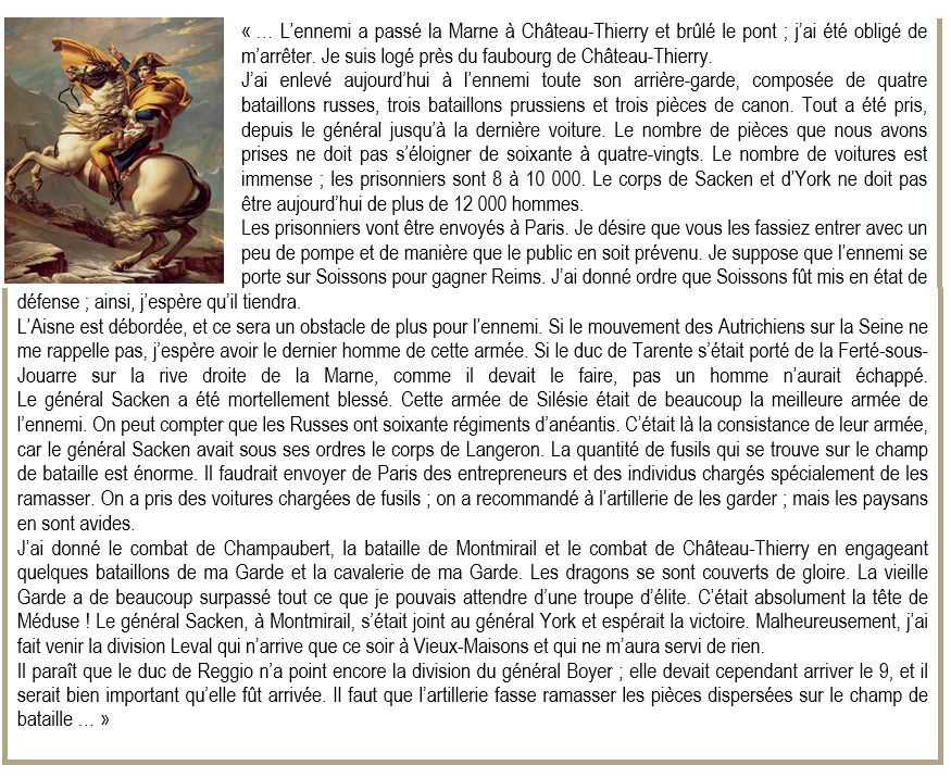 Montfaucon 02 lettre de napoleon