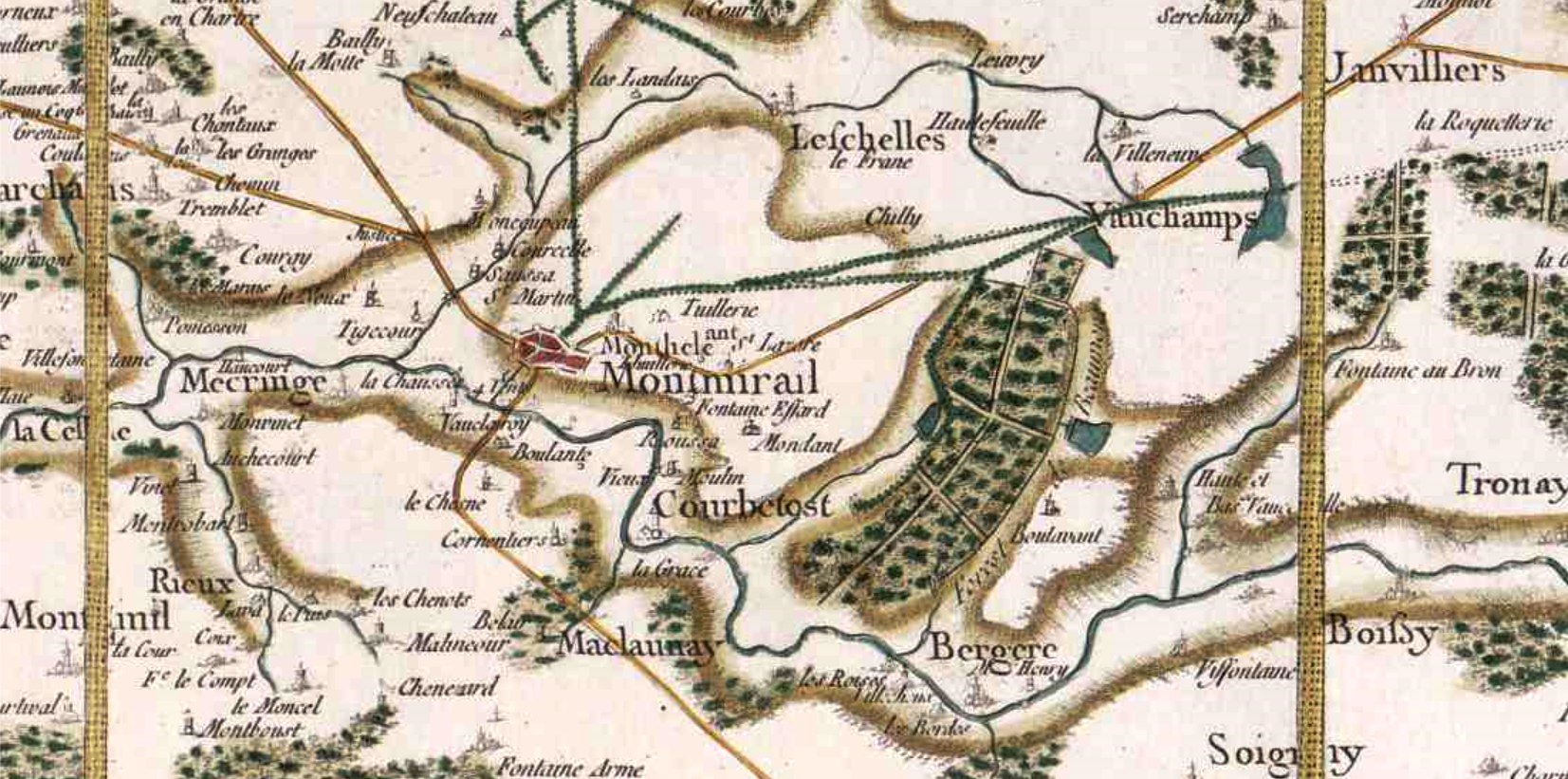 Montmirail 51 cassini
