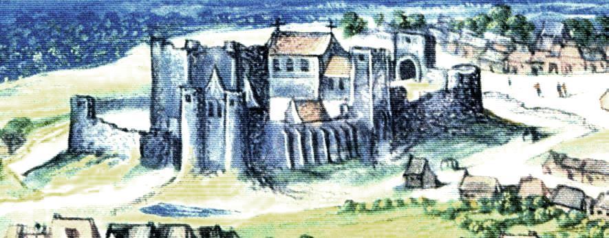 Oisy le verger pas de calais le chateau detail du tableau