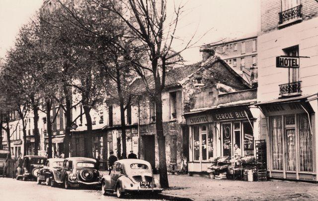Paris 75 13eme avenue de choisy en 1960 cpa 1