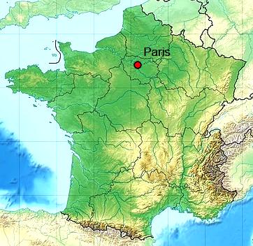 Paris 75 geo