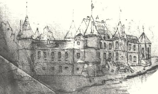 Passy sur marne 02 le chateau gravure