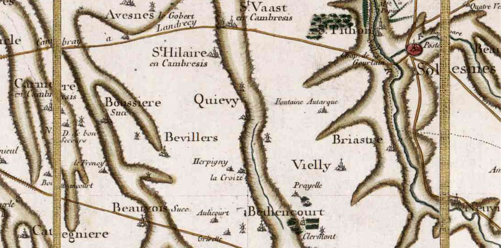 Quievy 59 cassini