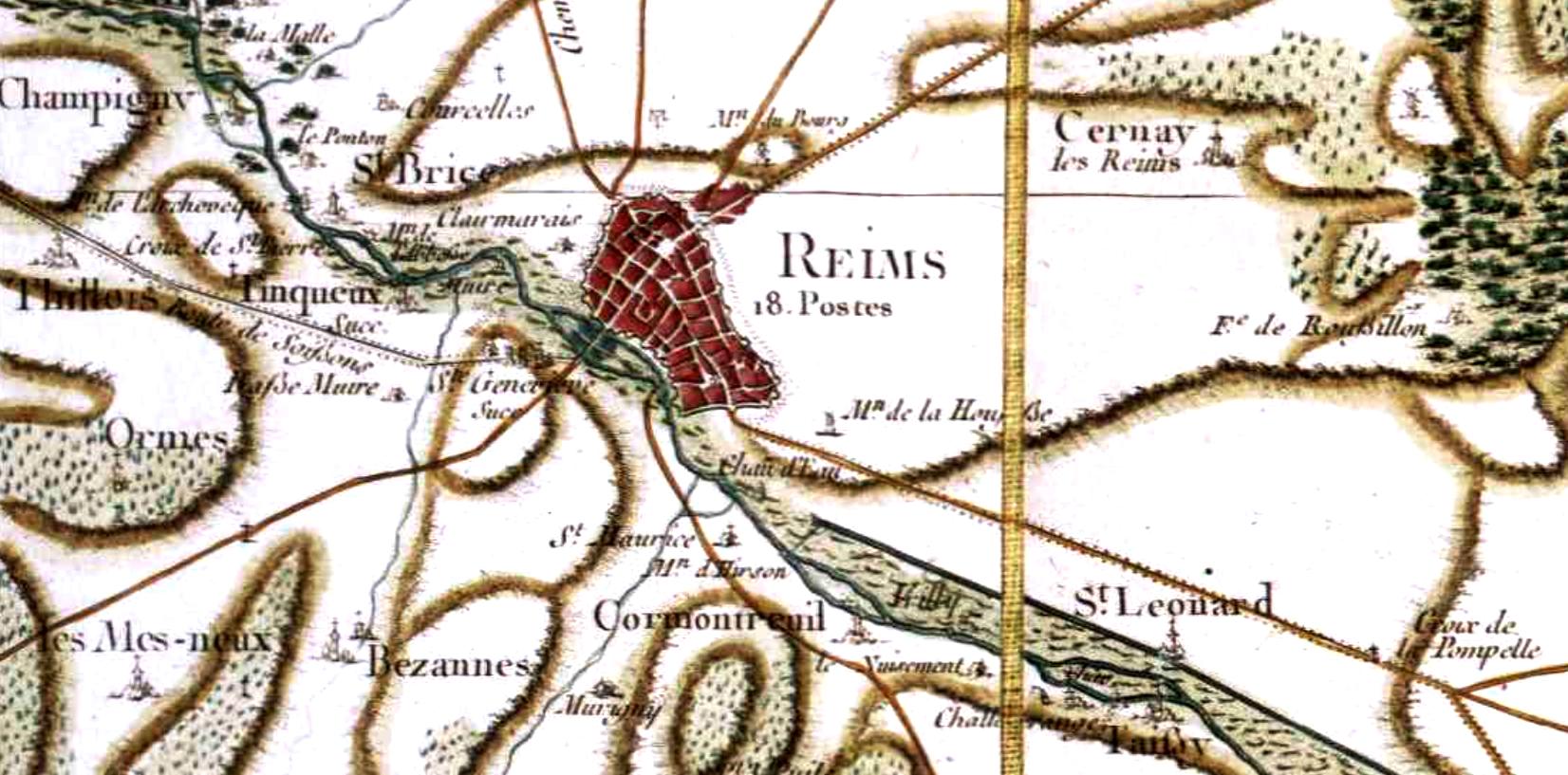 Reims 51 cassini