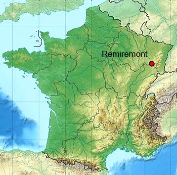 Remiremont 88 geo