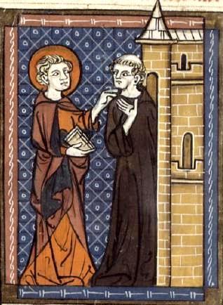 Saint fursy et le moine