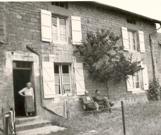 Stenay meuse cervisy la maison 1964