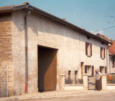 Stenay meuse cervisy la maison en 1982