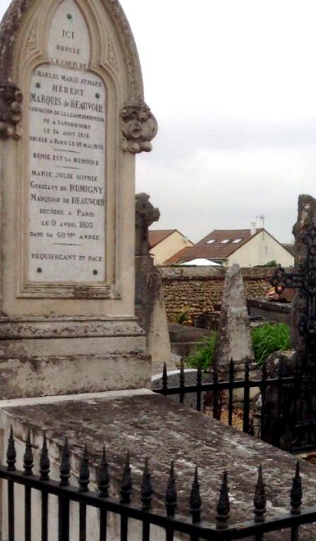 Tombe de marquis de beauvoir