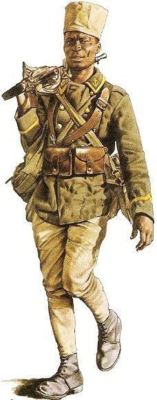 Un tirailleur senegalais