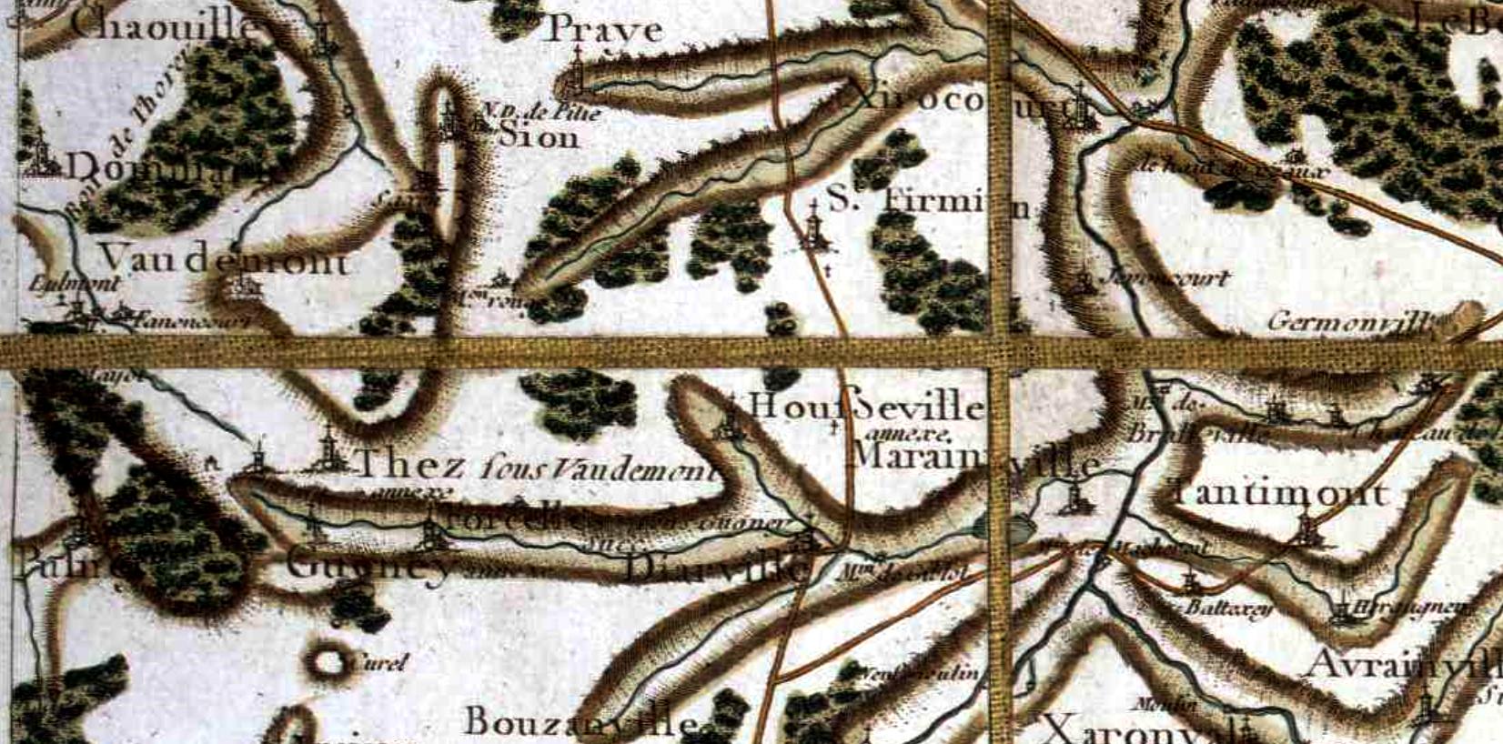 Vaudemont 54 cassini