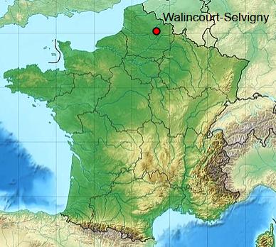 Walincourt selvigny 59 geo