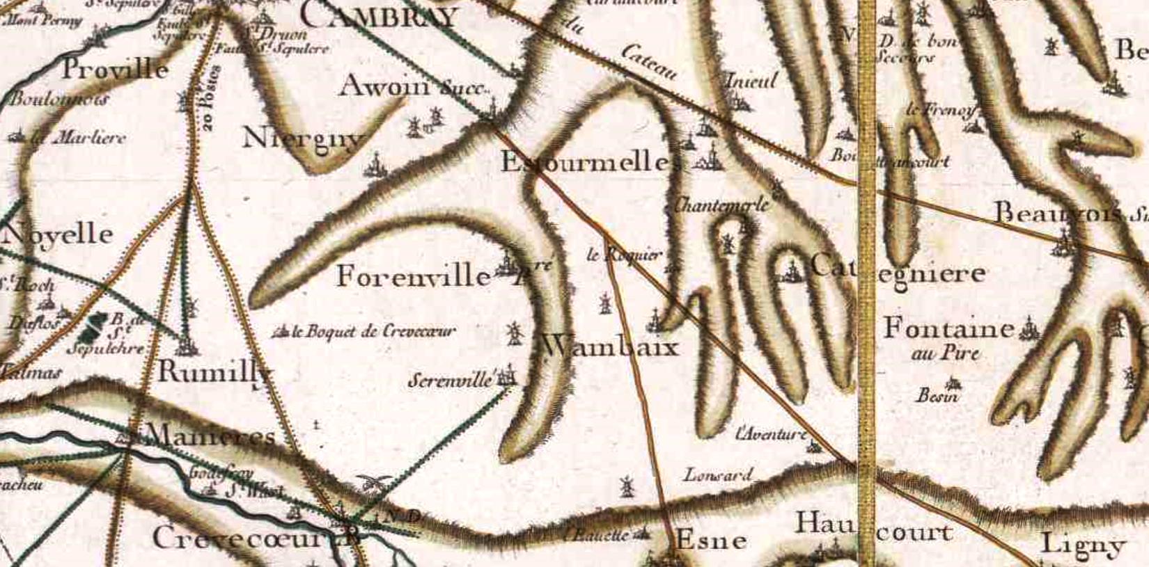Wambaix 59 cassini