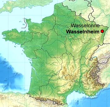 Wasselonne 67 geo