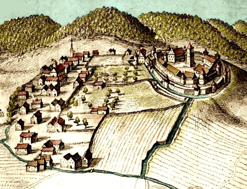 Wasselonne 67 gravure de 1674